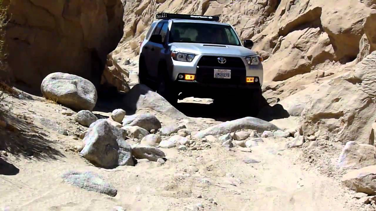 2010 lifted 5th Gen 4Runner Offroad in Anza Borrego - YouTube