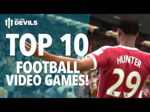 Top 10 Footy Video Games of ALL TIME!  FIFA, Pro Evo, Football Manager and More!