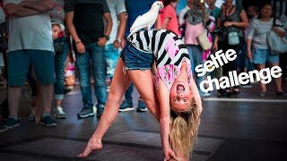 SELFIE CHALLENGE with WORLD OF DANCE Star Maesi Caes and Isabella Fonte