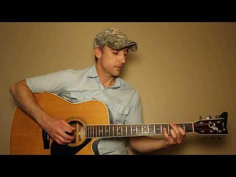 Austin - Blake Shelton - Guitar Lesson | Tutorial