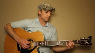 Austin - Blake Shelton - Guitar Lesson | Tutorial