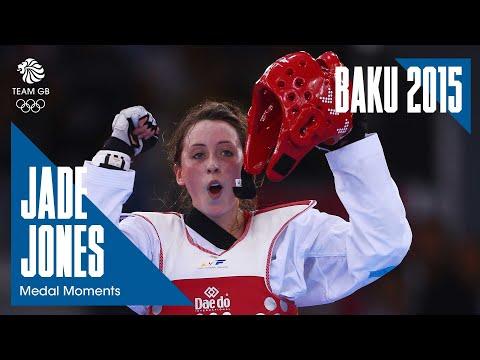 Baku 2015: Jade Jones' Gold Medal match- Full Replay