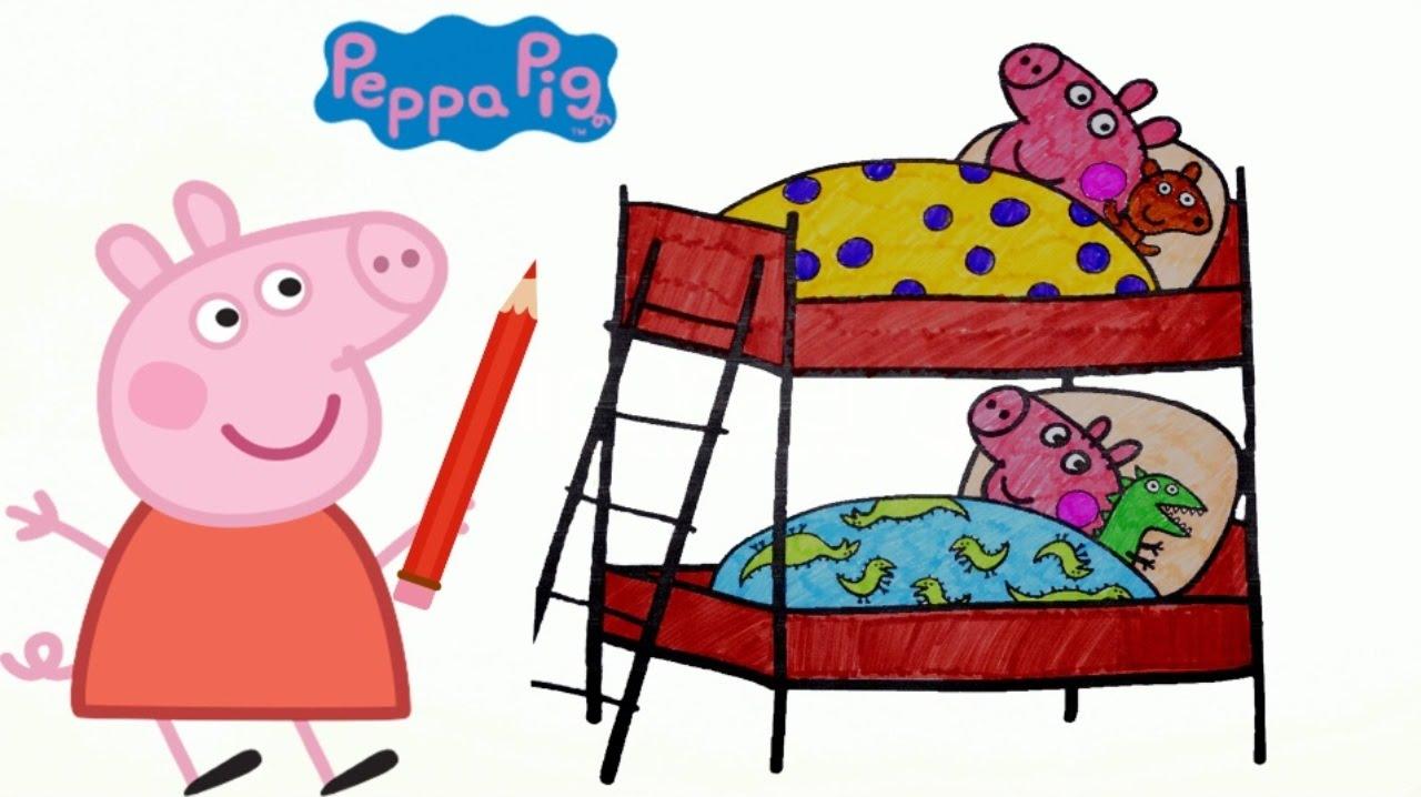 Свинка Пеппа | Peppa Pig | Раскраска для детей - YouTube