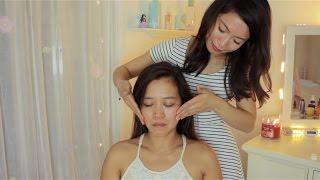 ASMR Essential Scalp Massage For Sleep w/ Face Brushing