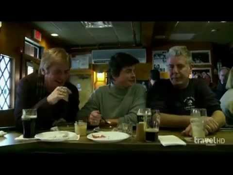 Anthony Bourdain at The Eire Pub