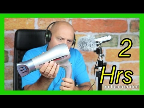 3D Virtual Hairdryer Hair Dryer cleaner sound, very relax, anti stressful