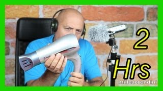 Repeat youtube video 3D Virtual Hairdryer Hair Dryer cleaner sound, very relax, anti stressful