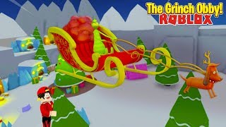 ROBLOX - SAVING CHRISTMAS, THE GRINCH OBBY!!!