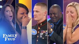 TOP 5 EPIC BUZZER BREAKDOWNS!! | Family Feud