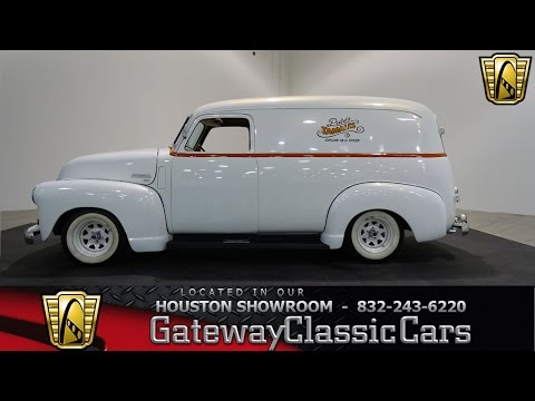 1949 Chevrolet Panel Truck Gateway Classic Cars #659 Houston Showroom