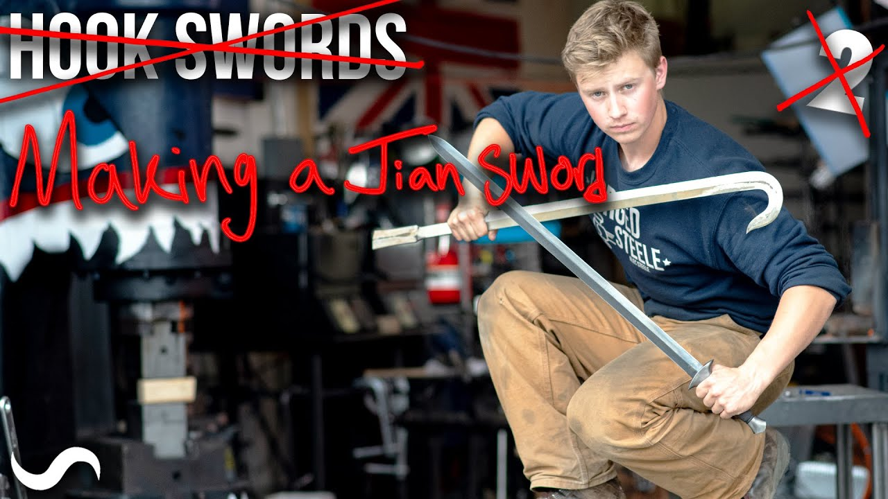MAKING A JIAN SWORD!!!