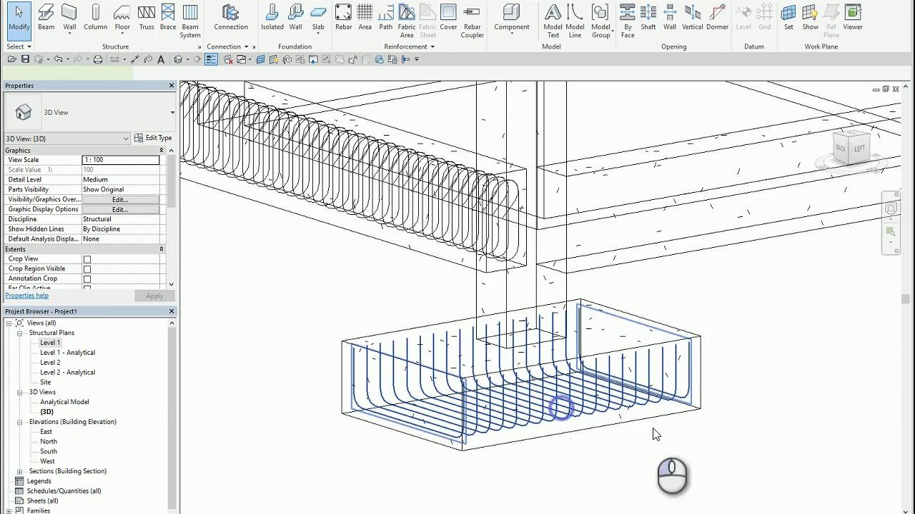 revit rebar partition thai youtube plug wiring diagram datum link connector wiring diagram [ 1280 x 720 Pixel ]
