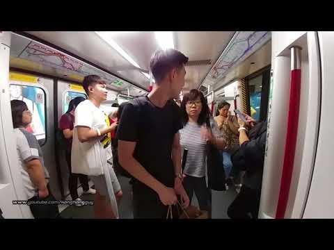 Hong Kong MTR Ride