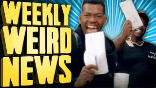 If You're Gonna Commit Unemployment Fraud, Don't Make a Music Video About It - Weekly Weird News