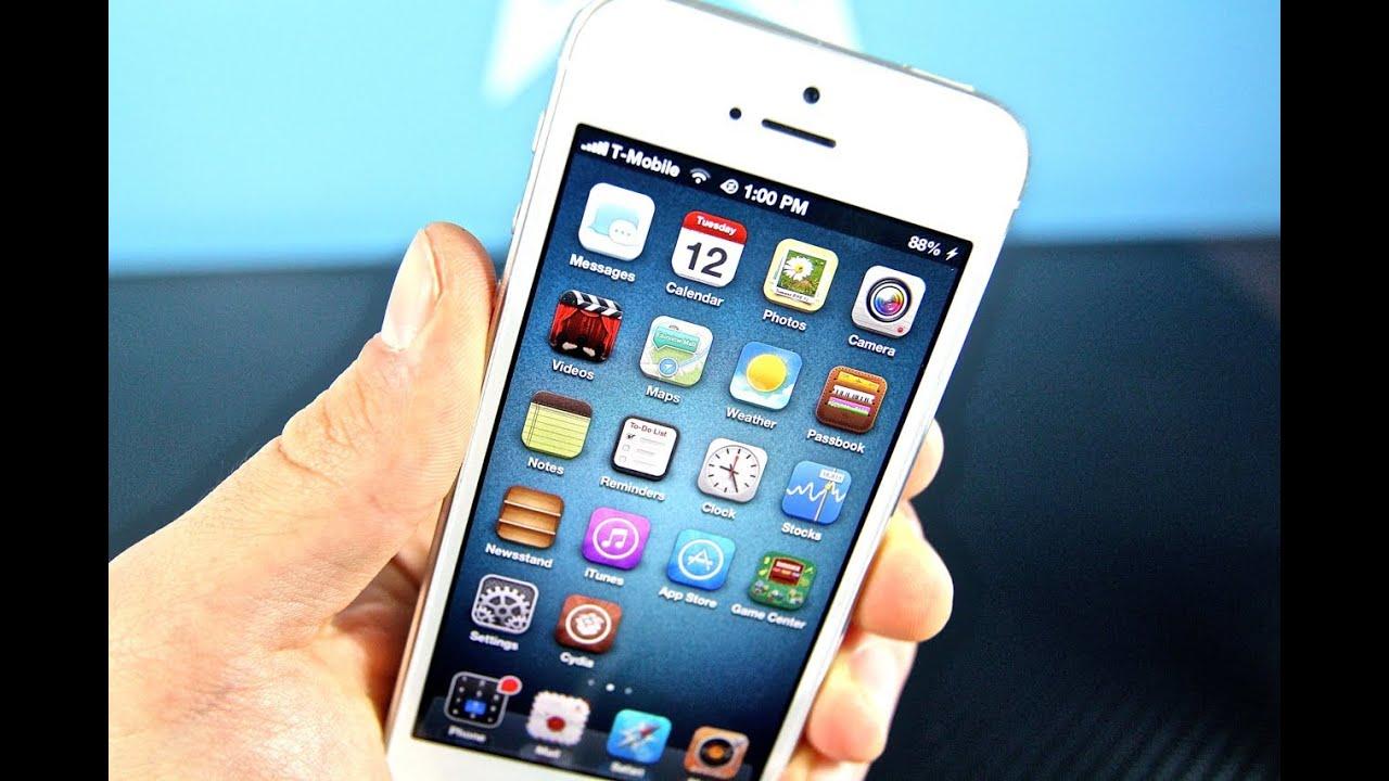 Top 5 Free Cydia Tweaks for 6.1.2 iPhone 5/4S/4/3Gs iPod 5G/4G - Best Evasi0n iOS 6 Tweaks