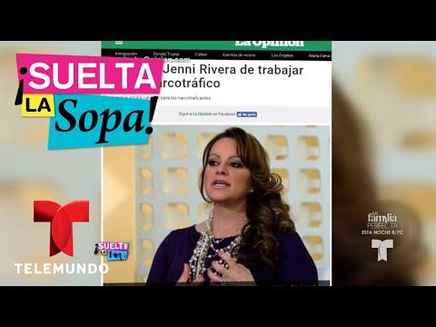 Cristina Eustace habla de la muerte de Jenni Rivera | Suelta La Sopa | Entretenimiento