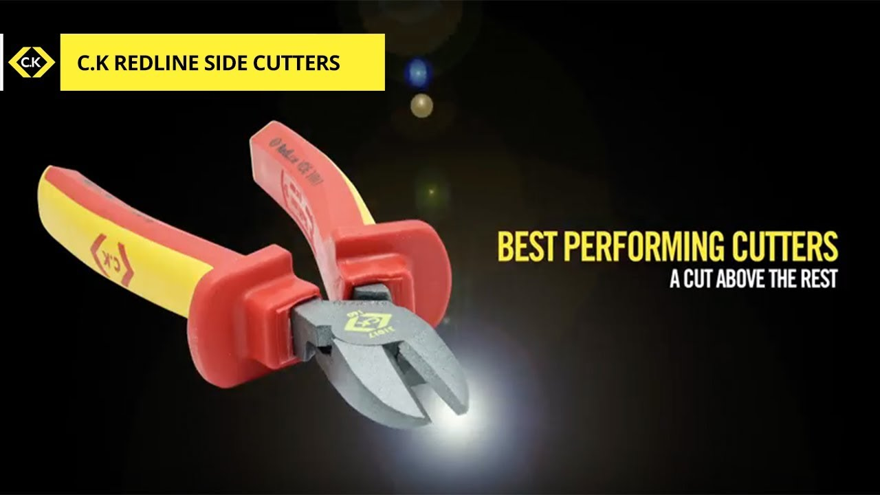 C.K RedLine VDE Side Cutters - A Cut Above The Rest