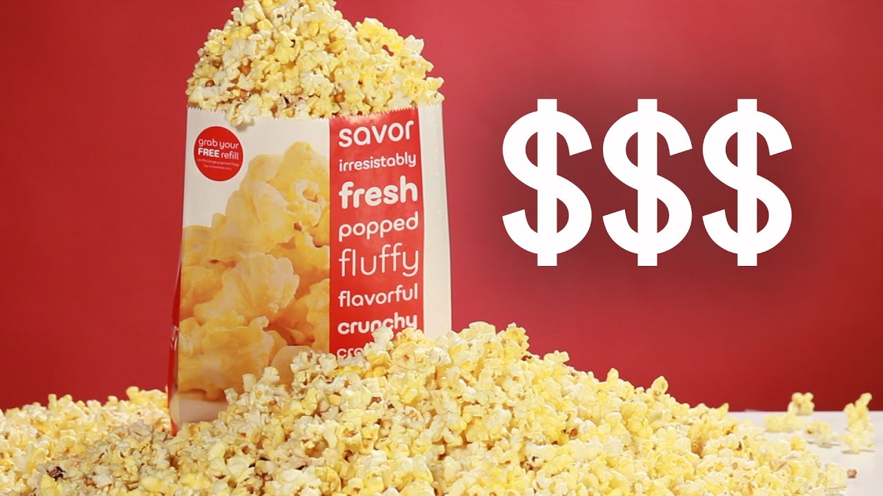 Proof That Movie Theater Popcorn Is A Rip-OffYouTube