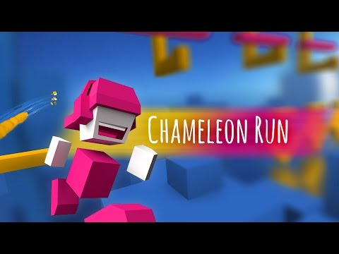 Official Chameleon Run (by Noodlecake Studios Inc) Launch Trailer (iOS/Android)