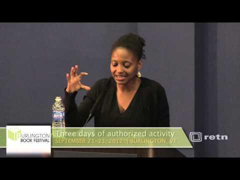 2012 Burlington Book Festival: Tracy K Smith - YouTube
