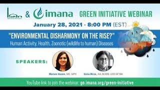 ISNA / IMANA GREEN INITIATIVE WEBINAR