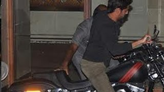 Siddharth Malhotra Out Of Control Moment   Crashes His Bike