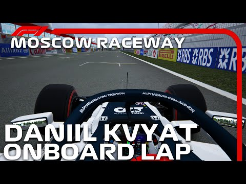 F1 2020 Moscow Raceway   Daniil Kvyat Onboard