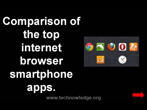 Chrome vs Firefox, Opera, UC Browser & Dolphin: smartphone internet browser apps comparison
