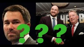 Will Tyson Fury go to Matchroom in 2019??