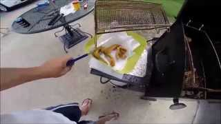The best way to clean crappie