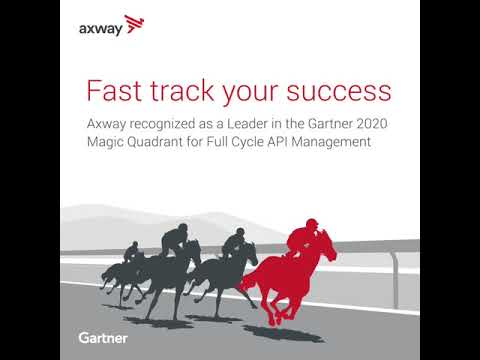 Axway a Leader in the Gartner 2020 Magic Quadrant for Full Life Cycle API Management