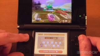 3DS GAMEPLAY - Super Monkey Ball 3D (Sweet Fountain)