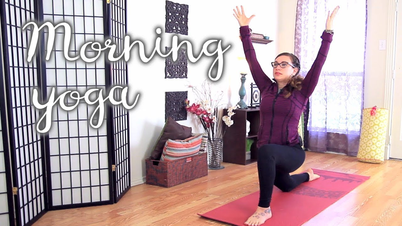 Energizing Morning Yoga Sequence - Yoga to Start Your Day