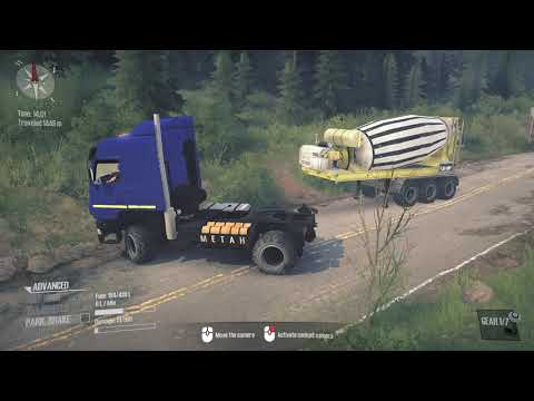 MudRunner  A Spintires game™ 2021 Unlock Watch point on the hill |