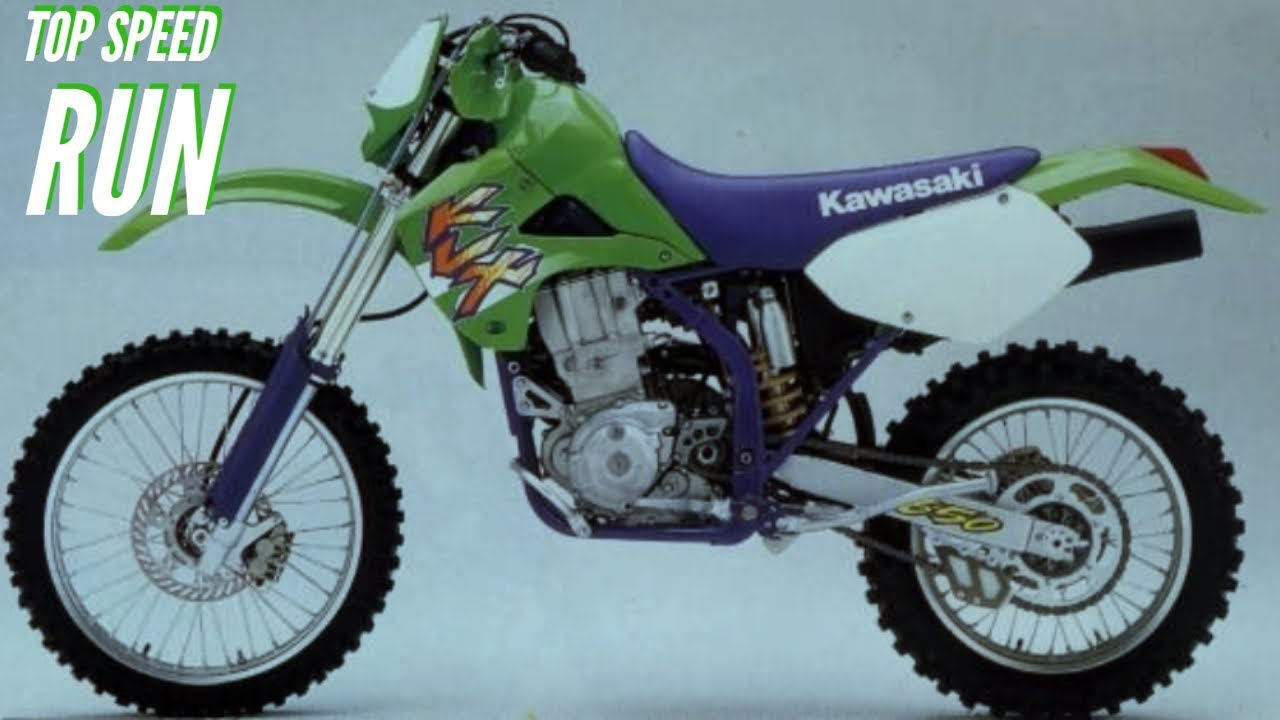 Kawasaki Klx 650r Top Speed Youtube