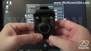 How to Turn Stealth Mode ON and OFF on the WOLFCOM Halo Police Body Camera