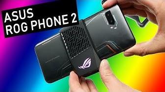 ASUS ROG Phone II (Ylikellotettu + RGB)
