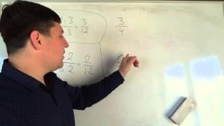 Математика 6 класс. 29 сентября. Основное свойство дроби 2