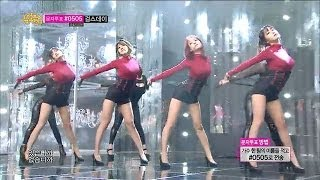 Repeat youtube video [HOT] Rainbow Blaxx - Cha Cha, 레인보우 블랙(재경,고우리,오승아,현영) - 차차, Show Music core 20140125