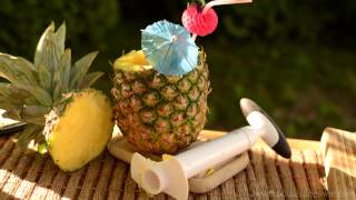 How To Make A Pineapple Cup