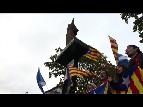 Scottish nationalists urge Spain to 'respect' Catalan vote