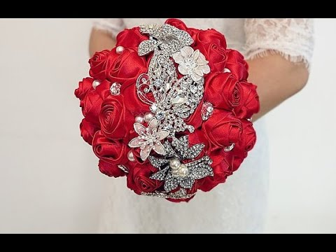 Diy How To Make Your Own Wedding Bridal Brooch Bouquet