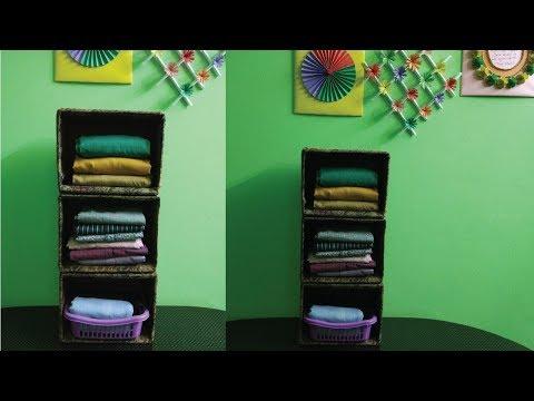 Closet Organizer Shelf/DIY Cardboard Shelf 🔥🔥🔥