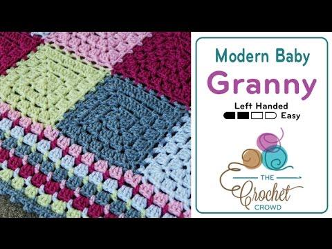 How To Crochet A Baby Blanket Modern Blanket Youtube