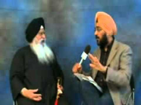Interview Prof. Darshan Singh Ji on 5th March 2011 by Aapna TV in Fresno, CA.