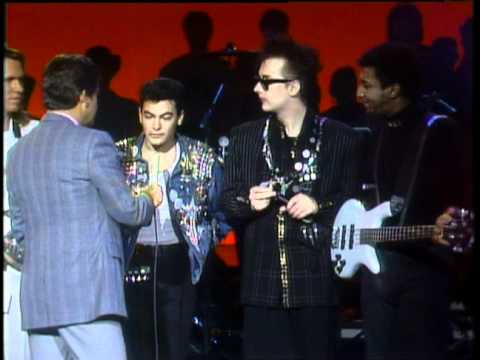 Dick Clark Interviews The Culture Club - American Bandstand 1986