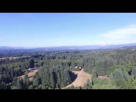 Sandy Oregon drone flight