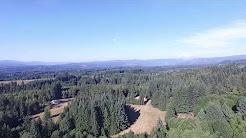 Sandy Oregon drone flight