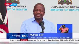 Mask Up: Kenyans asked to wear face mask:  COVID- 19