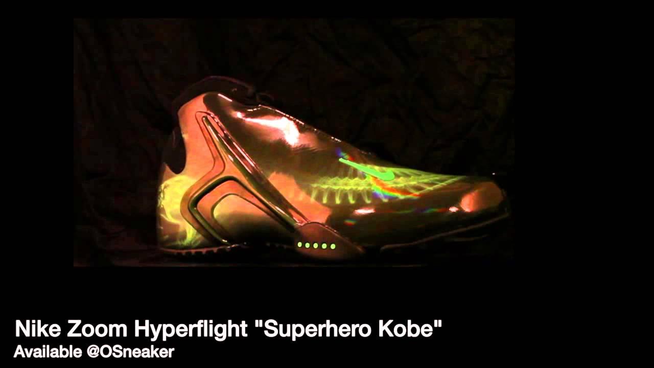 3d4dc3806b244e Nike Zoom Hyperflight Superhero Kobe - YouTube